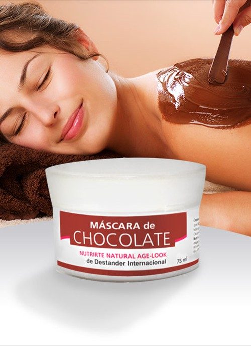 Máscara de chocolate