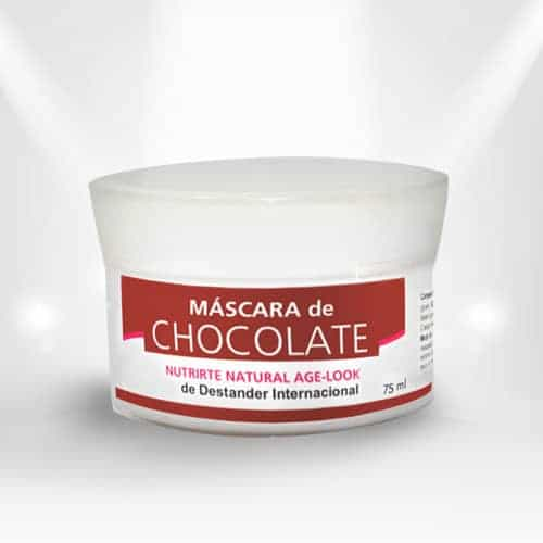 Mascara de chocolate