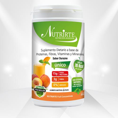 Postre Nutricional Frutos Rojos