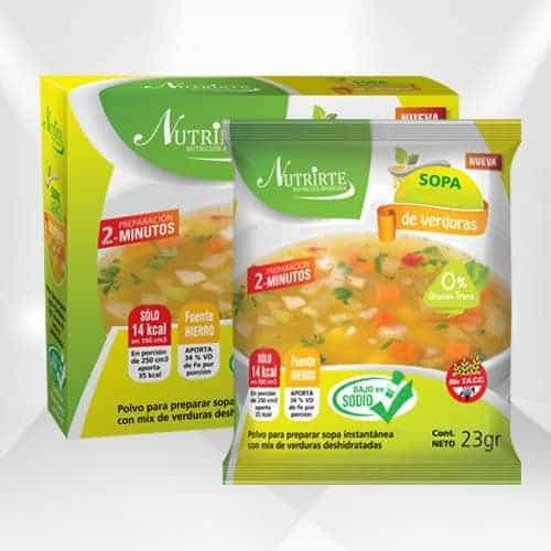 Sopa Baja en Sodio