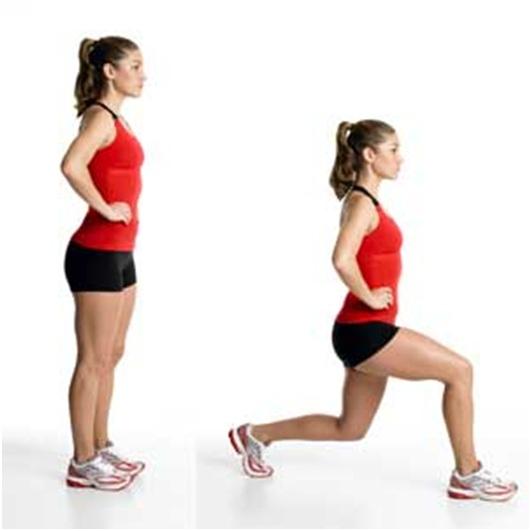 Resultado de imagen para pasos atras ejercicio